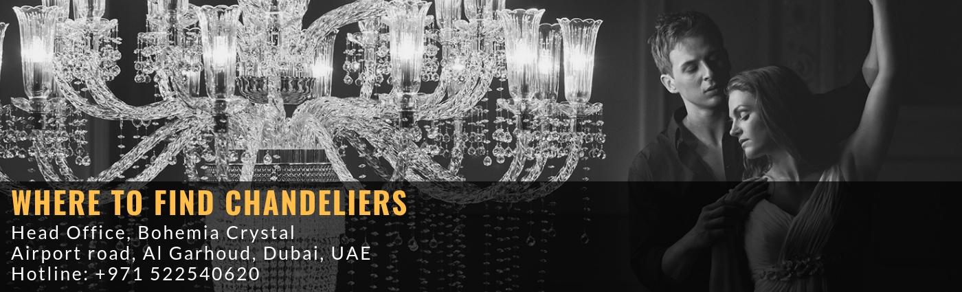Bohemia crystal - chandeliers